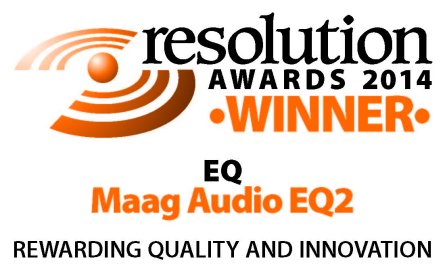 Resolution Awards 2014 - Maag Audio EQ2 Winner